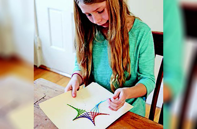DIY: Stitching Stars Math Fun