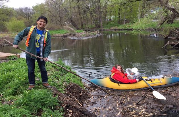 Take Part in The Great Saw Mill River Cleanup Just in Time for Earth Day