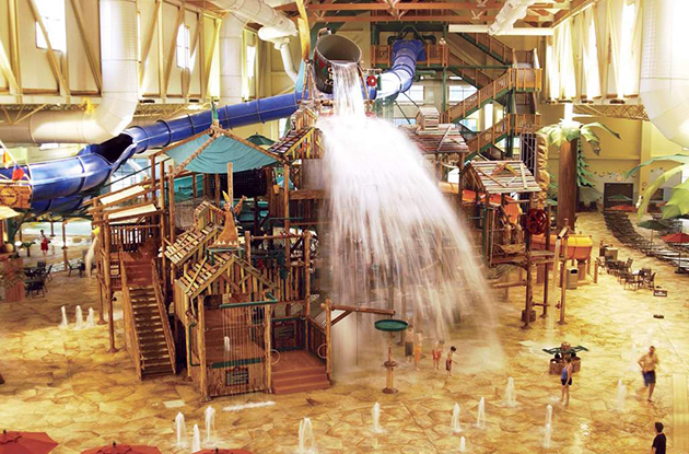 Indoor Water Parks in the Northeast