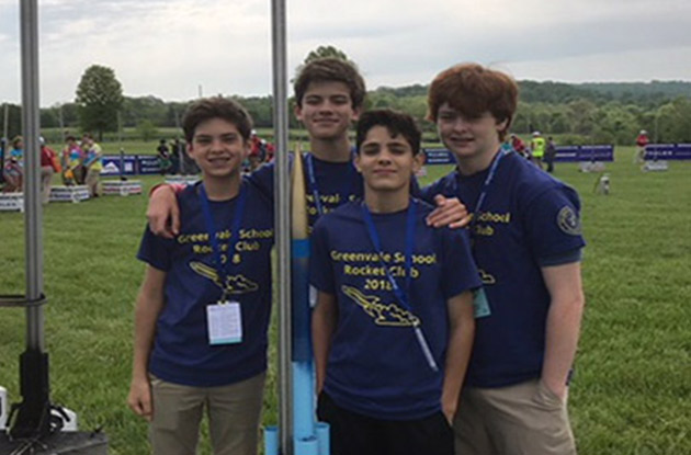 Green Vale School Rocketry Team Places 9th in the Nation
