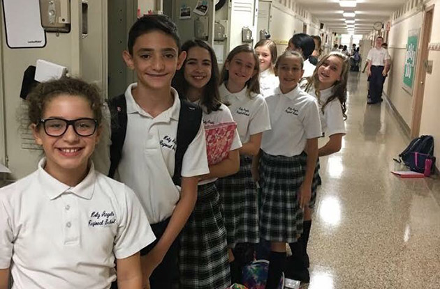 Holy Angels Regional School Offers New Programs Centered Around This Year's Kindness Matters Theme