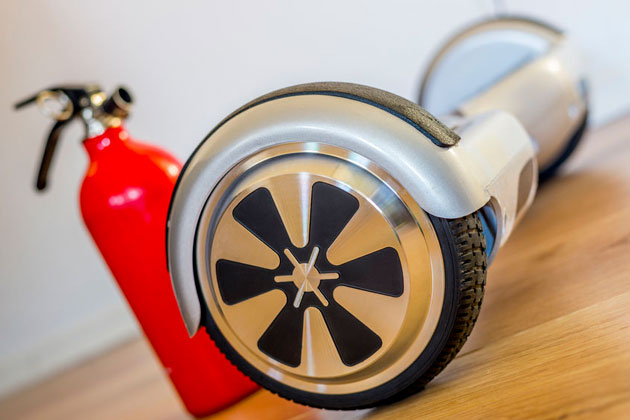 Recall Alert! Self-Balancing Scooters/Hoverboards Pose Fire Hazard