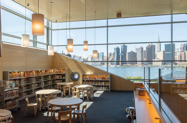 Minimalistic, State-of-the-Art Library Now Open in Hunters Point
