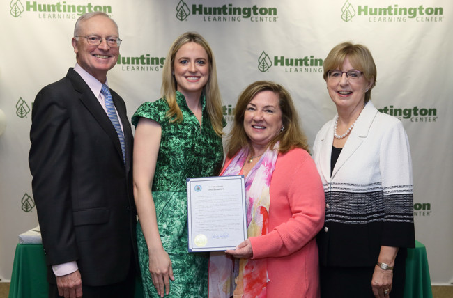 Huntington Learning Center Celebrates 40th Anniversary