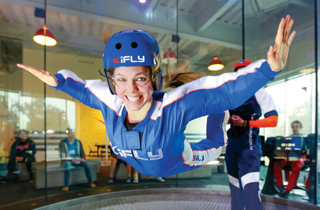 iFLY Indoor Skydiving Opens in Paramus, NJ