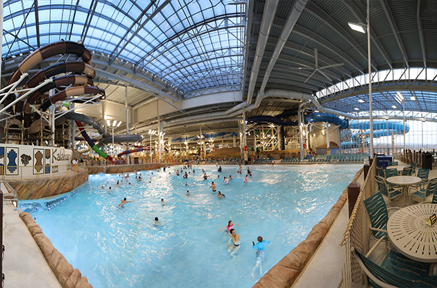 Kalahari Resort in the Poconos Now Has America's Largest Indoor Water Park