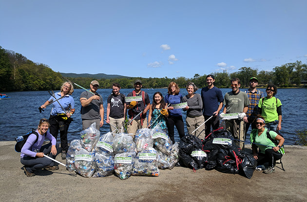 Keeping Our Streams Clean: 2018 Fall Waterways Cleanup in Rockland
