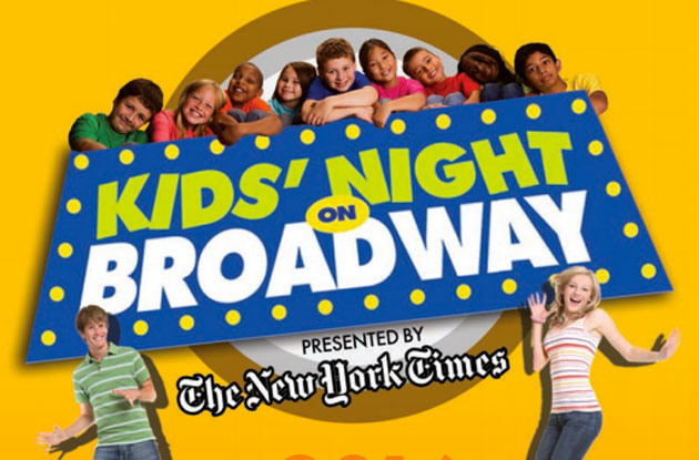 21st Kids' Night on Broadway Announced