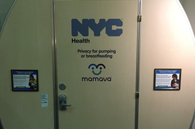 Nursing Mothers Can Comfortably Breast-Feed in Lactation Pods in New York City