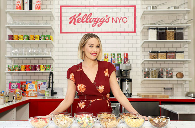 Lauren Conrad Helps Launch Kellogg's New Union Square Cereal Café