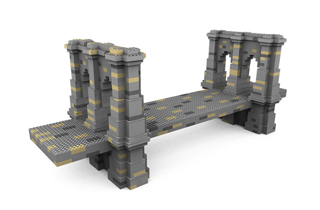Help Construct 320-Pound LEGO Replica of the Brooklyn Bridge in Grand Central Station