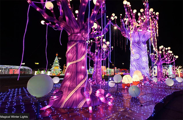 New NYC Holiday Lights Festival is Coming to Randall's Island