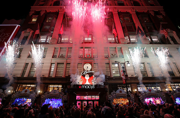 Holiday Window Displays in New York City