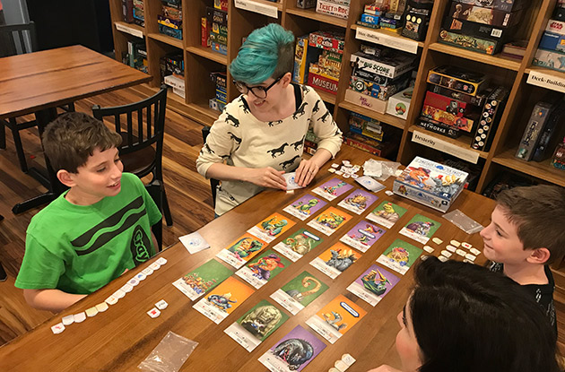Main St. Board Game Cafe in Huntington Unveils After School Program This Fall