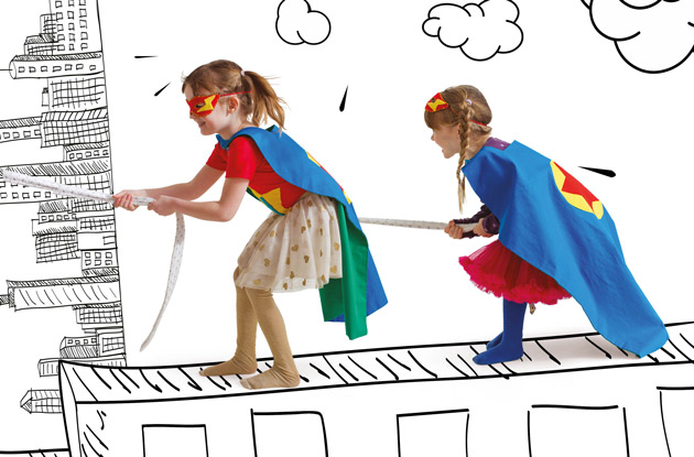 DIY for Kids: Make Your Own Superhero Cape