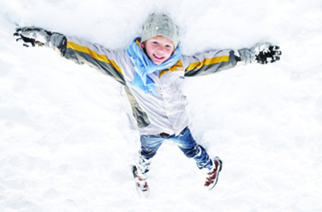 In a Winter Slump? Here's How to Get Your Kids to Be Active This Season