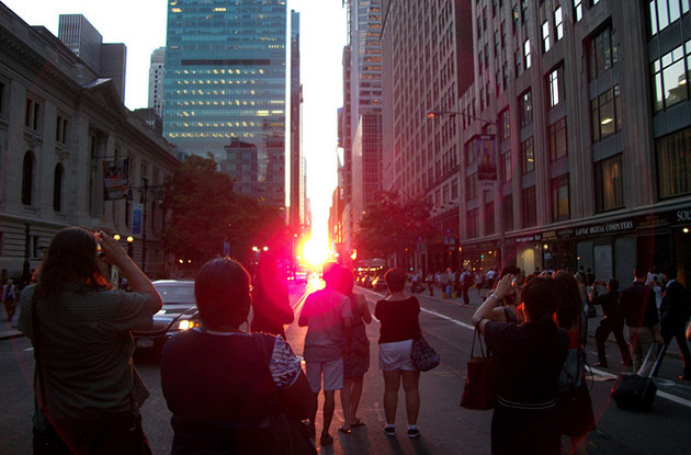 When to See Manhattanhenge 2017
