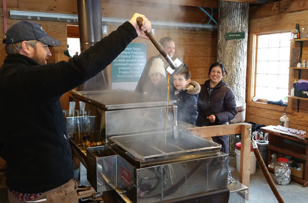 Where to: Maple Sugaring