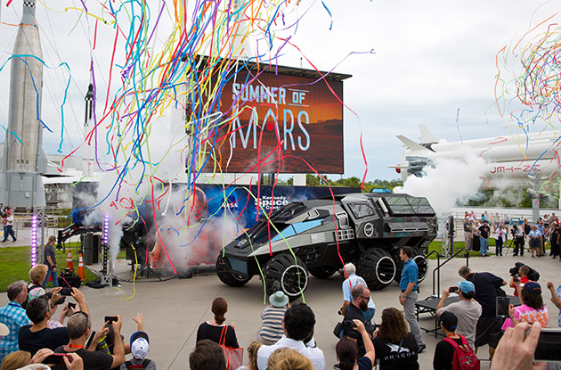 Mars Rover to Make Final Landing at the Intrepid Museum's Space and Science Festival