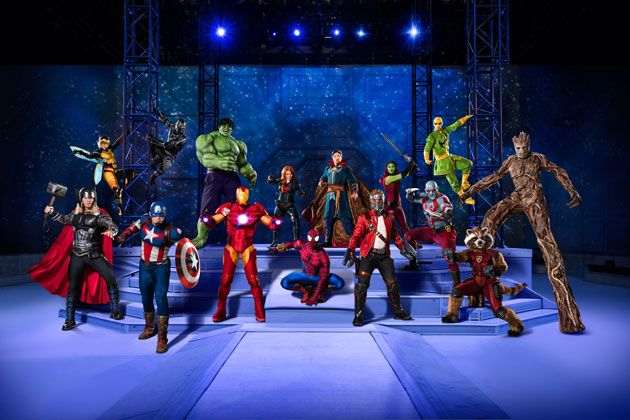 Your Favorite Marvel Characters Are Coming to A Town Near You