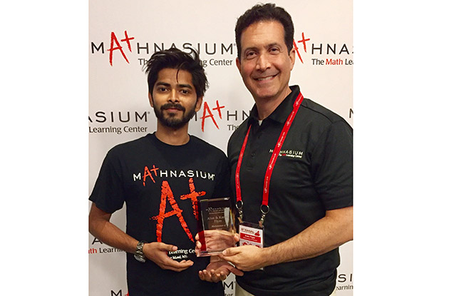 Mathnasium of Roslyn Wins Award
