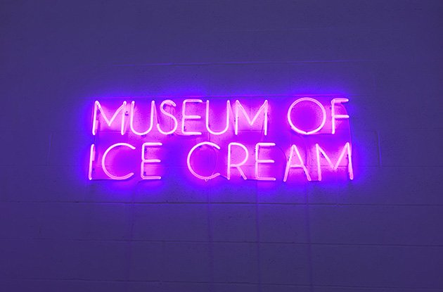 A Taste of the Museum of Ice Cream