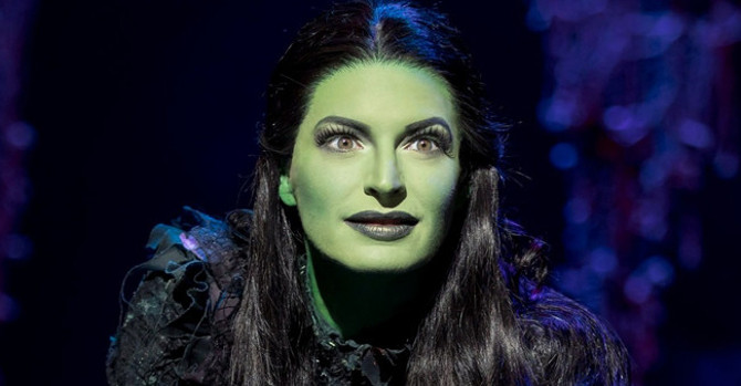Jackie Burns, Defying Gravity in Wicked on Broadway