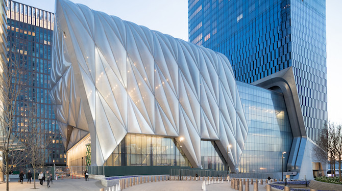 Hudson Yards Sheds Light on New Artistic Experiences in NYC