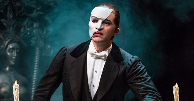Ben Crawford Sets the Right Tone for The Phantom of the Opera