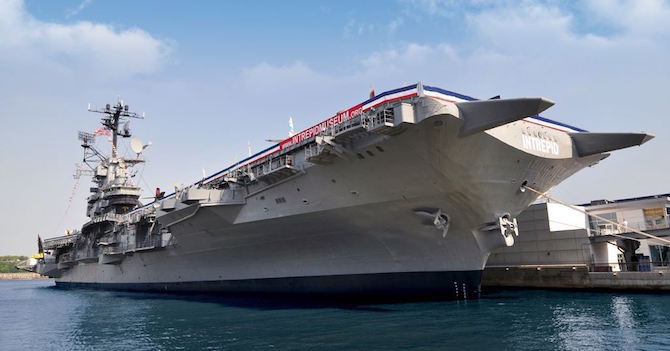 Free Fridays at the Intrepid, Sea, Air & Space Museum