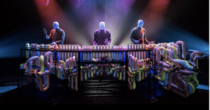 The Blue Man Group Rocks the Museum of the City of New York