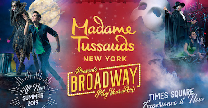 Be a Star! 'Madame Tussauds New York Presents Broadway' Now Open