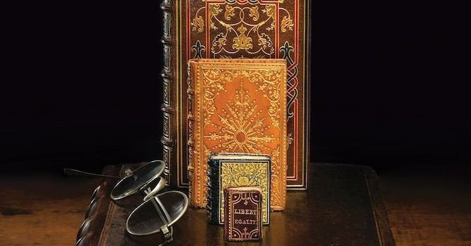 Size Matters: Free Exhibition on Miniature Bindings & Texts at Grolier Club