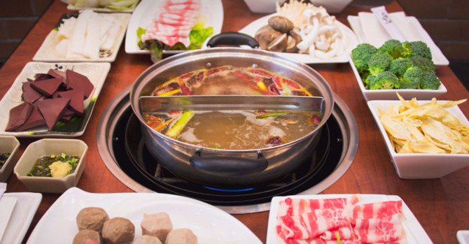 Ding! Hot Pots, BBQ, and Authentic Szechuan in Times Square