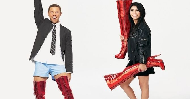 Get VIP Access to Jake Shears and Kirstin Maldonado—The New Stars of Kinky Boots!