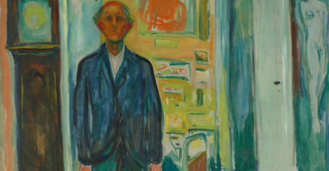 Edvard Munch: Between the Clock and the Bed at Met Breuer
