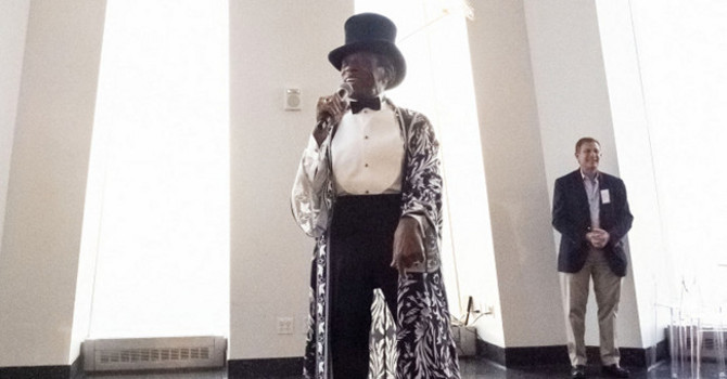 """André De Shields Highlights """"NYC Tourism Is Back"""" Gathering Ahead of Return to Broadway"""