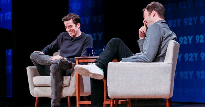 John Mulaney and Bill Hader: Unique Comedy at the 92nd Street Y