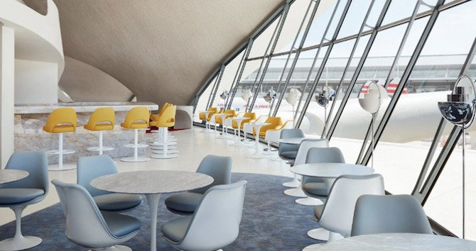 Where to Eat and Drink at the New TWA Hotel at JFK Airport