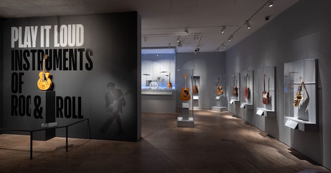 Play It Loud: A Wail of a Good Time at the Met's New Rock & Roll Exhibition