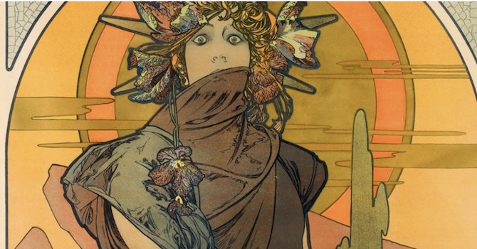 Poster House Opens with Alphonse Mucha Art Nouveau Exhibit