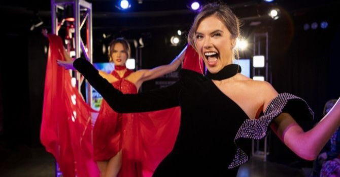 You Can Now Learn How to Strut the Runway with Victoria Secret Angel Alessandra Ambrosio at Madame Tussauds New York