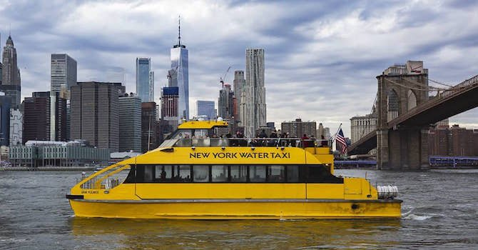 The Ultimate Day in NYC on New York Water Taxi