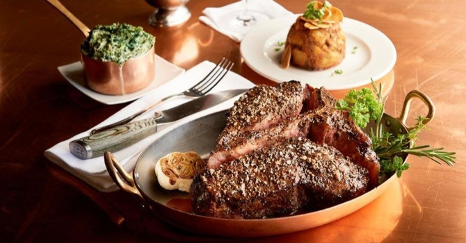 Over-the-Top Steak and Layer Cake at NYC's Two Strip House Locations
