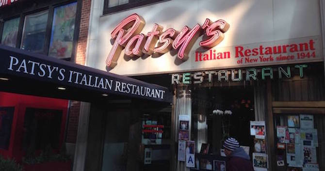 Patsy's Italian Restaurant Celebrates 75th Anniversary in NYC