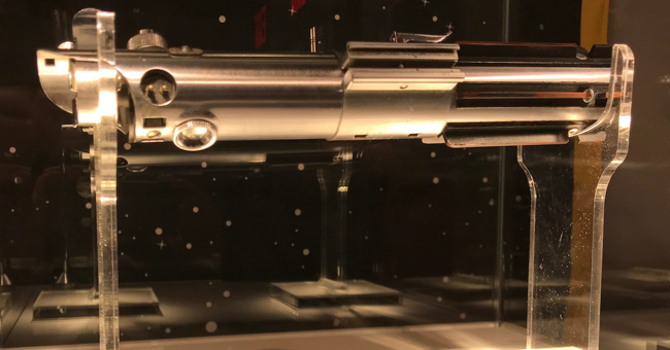 See Luke Skywalker's Authentic Lightsaber at Ripley's!