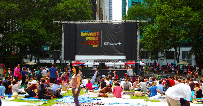 NYC's Best 5 Outdoor Movie Screenings for Summer
