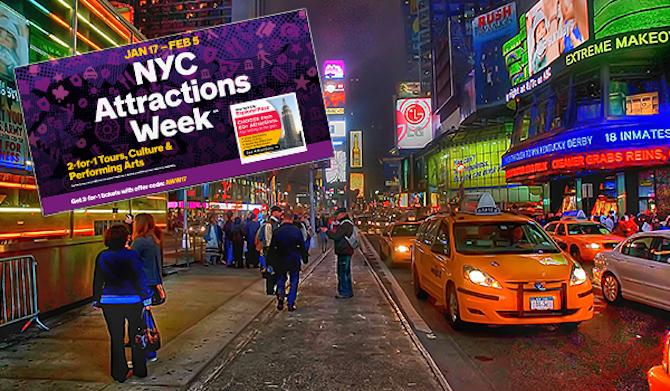 The 5 Things to See During NYC Attractions Week