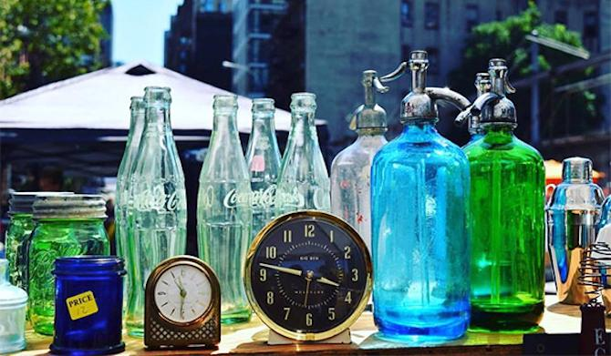 NYC's Treasure Trove of Finds and Deals: Hell's Kitchen Flea Market