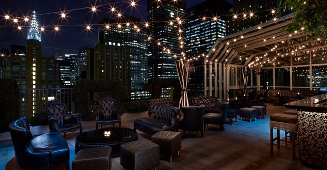 Year-Round Rooftop Glamour: Midtown's Upstairs at The Kimberly